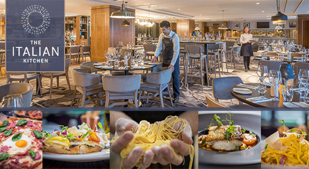 Win an overnight stay and dinner for two in The Italian Kitchen