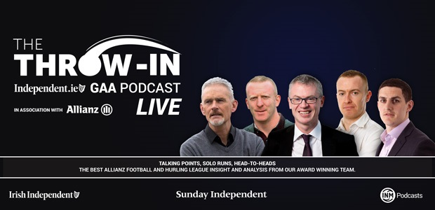 Win a chance to attend The Throw-In GAA Podcast LIVE
