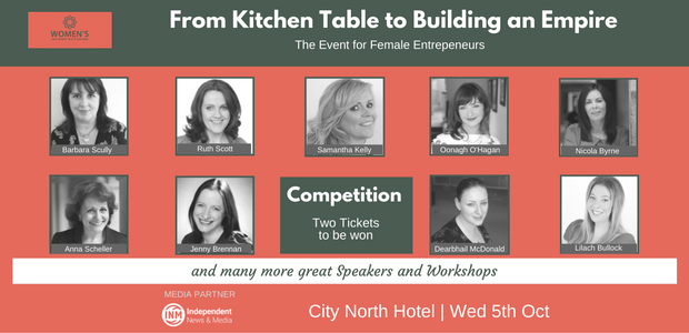 WIN TWO TICKETS TO WOMEN'S INSPIRE EVENT
