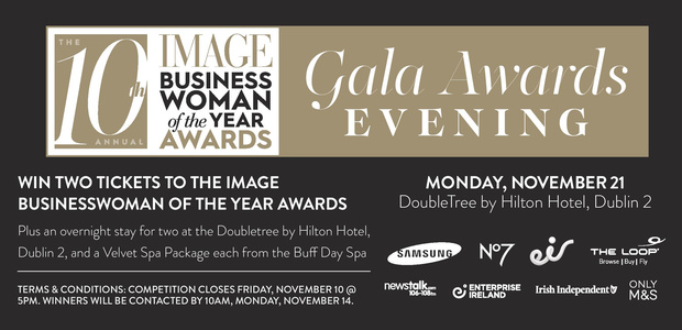 Win a trip to the Image Business Woman of the Year Awards