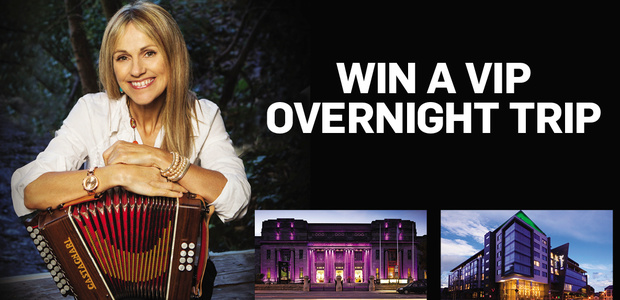 Win a VIP Trip to see Sharon Shannon at the National Concert Hall