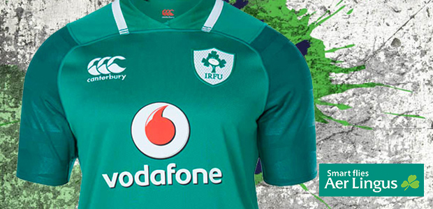 WIN: A signed Ireland rugby jersey in association with Aer Lingus