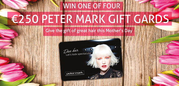 Win one of four €250 Peter Mark gift cards with the Sunday Independent this Mother's Day