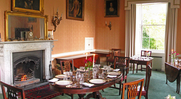 Win a midweek break at Ireland's Blue Book, Coopershill House