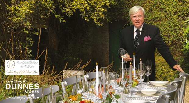 Going to a summer wedding? Win a €200 giftcard for the Francis Brennan Wedding Gift collection