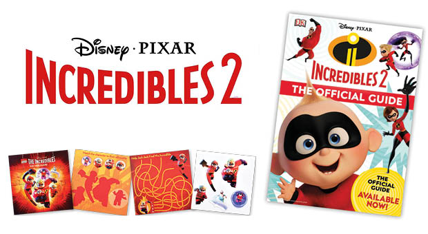 Win an Exclusive Incredibles 2 Goodie Bag