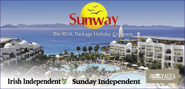 WIN A 5* HOLIDAY FOR 2 WITH SUNWAY!