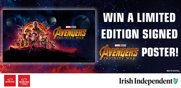 Win a signed Avengers: Infinity War Poster!