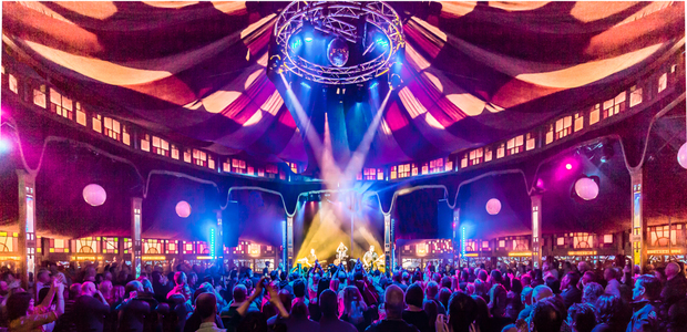 Win an overnight trip to the Wexford Spiegeltent Festival!