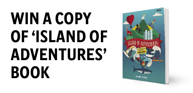 Win a copy of 'Island of Adventures' by Jennifer Farley