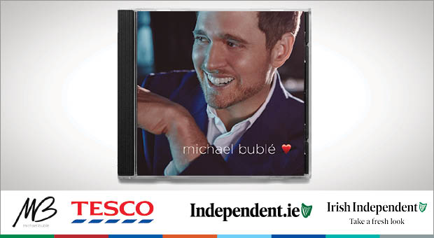 Win a signed copy of Michael Bublé's brand new album ❤️ (Love) and a pair of tickets to his upcoming concert