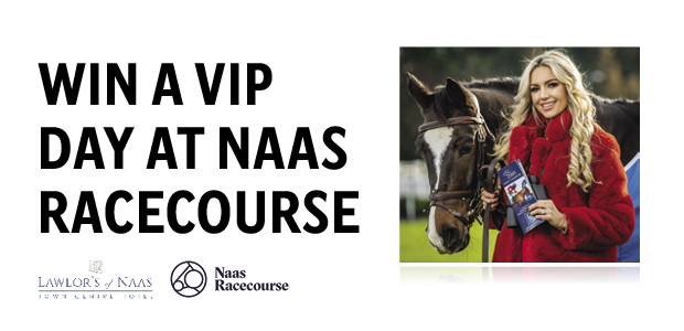 Win a VIP Day at Naas Racecourse