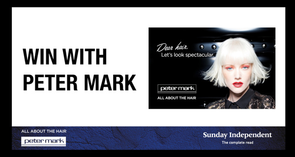 Win one of four  €250 gift cards for Peter Mark!