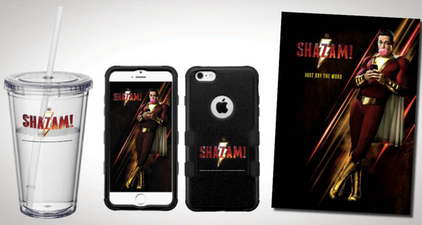 Win an exclusive Shazam! Movie Gift Set!