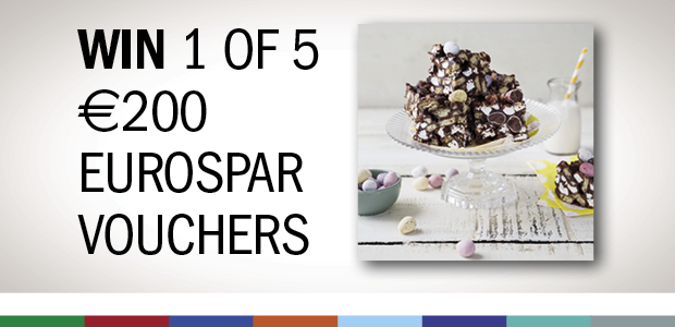 Win one of five Eurospar €200 shopping voucher