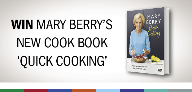 Win Mary Berry's new cook book 'Quick Cooking'