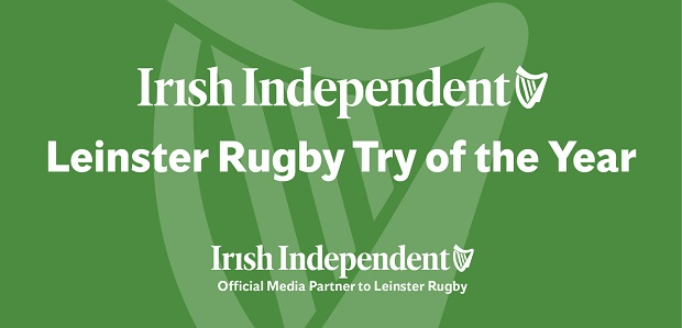 Irish Independent Leinster Rugby Try of the Year 2019