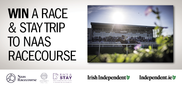 Win a Race & Stay Trip to Naas Racecourse!