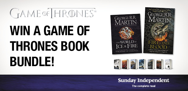 Win a Game of Thrones book bundle!