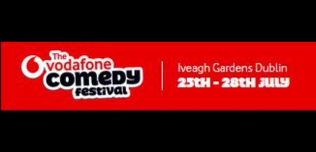 Win tickets to the Vodafone Comedy Festival 2019!