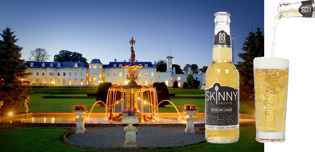 Win a luxury stay at The K Club with SkinnyBrands Premium Lager