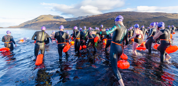 Win entry to the Great Fjord Swim!