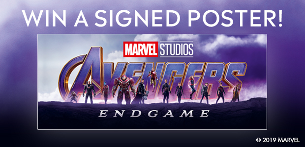 Win a signed Avengers:Endgame Poster