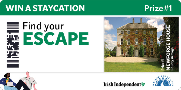 Find Your Escape and Win a Staycation at Newforge House.