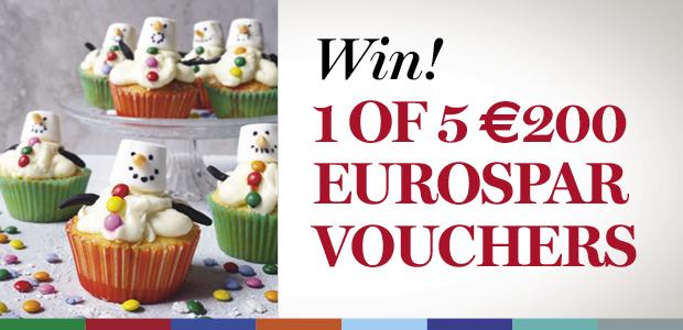 WIN a €200 Eurospar Christmas Shopping Voucher