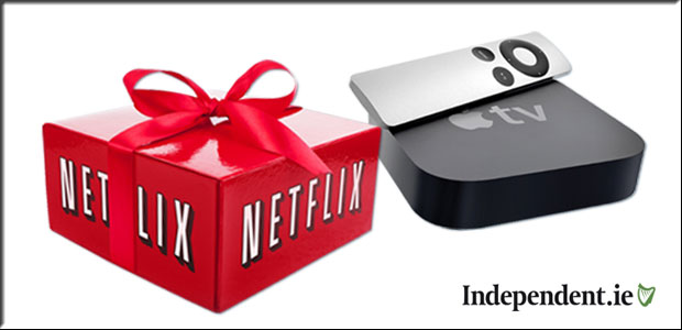 Win an Apple TV & Netflix for a Year