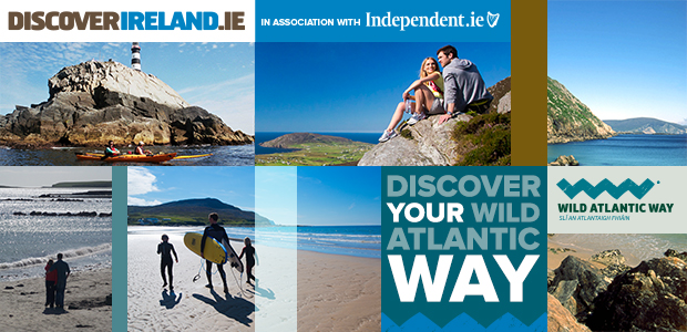 WIN a holiday with Discover Ireland and Independent.ie and embark on an epic journey of your Wild Atlantic Way!