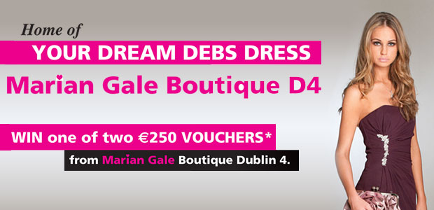 Win one of two €250 vouchers from Marian Gale Boutique Dublin 4