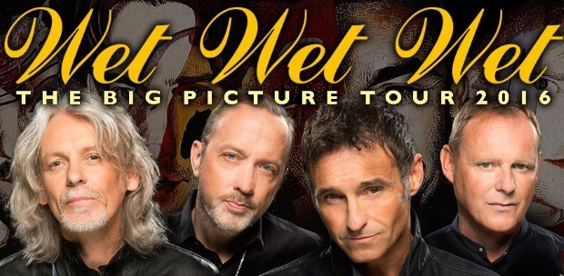 WIN exclusive access to the soundcheck party with Wet Wet Wet!