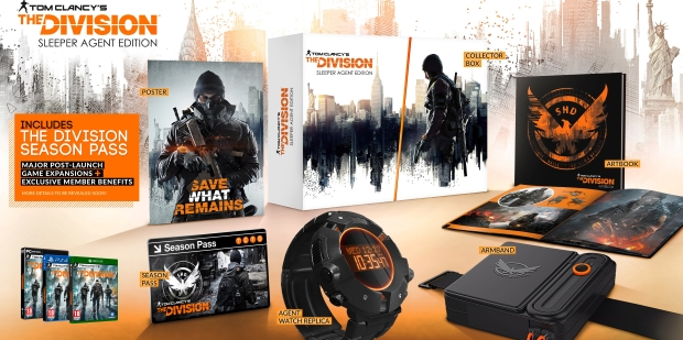 Win a Tom Clancy's The Division Sleeper Edition Collector's Set!